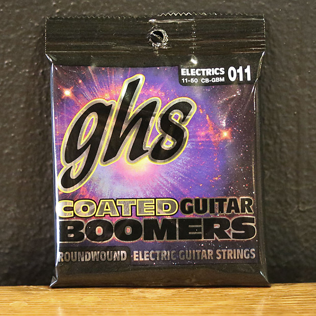 ghs coated guitar boomers roundwound electric guitar strings reverb. Black Bedroom Furniture Sets. Home Design Ideas