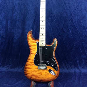 Fender Stratocaster FSR Exotic American Professional Maple Top Mahogany Body for sale