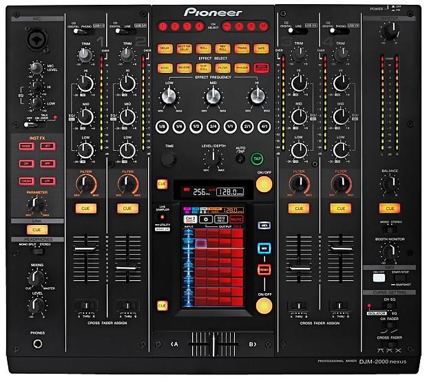 PIONEER DJM-2000NXS DJ MIXER WINDOWS 7 DRIVER