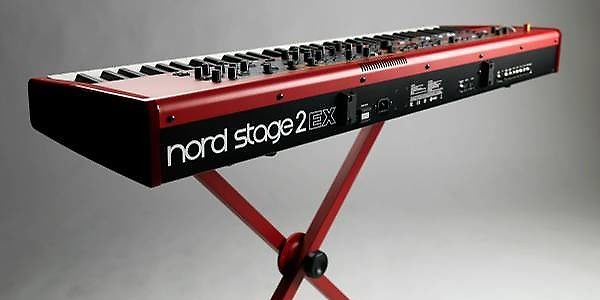 nord stage 2 ex hp 76 stage piano reverb. Black Bedroom Furniture Sets. Home Design Ideas
