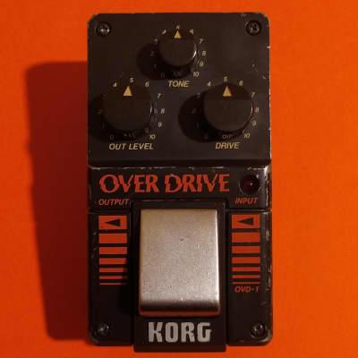 Korg OVD-1 OverDrive made in Japan w/box - JRC4558DV opamp