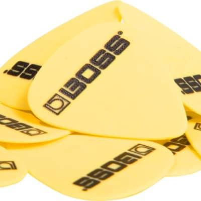 Boss Premium Quality Delrin Picks - 12 Pack - Medium