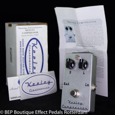 Keeley Compressor 2 Knob s/n 35463 USA , famous users include Matt Bellamy MUSE.