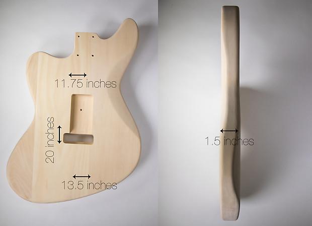 do it yourself diy electric guitar kit jaguar style electric reverb. Black Bedroom Furniture Sets. Home Design Ideas