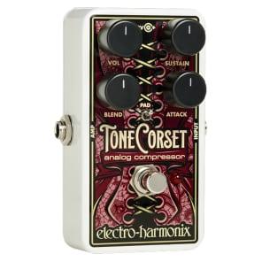 Electro-Harmonix EHX Tone Corset Analog Compressor Stompbox Guitar Effects Pedal