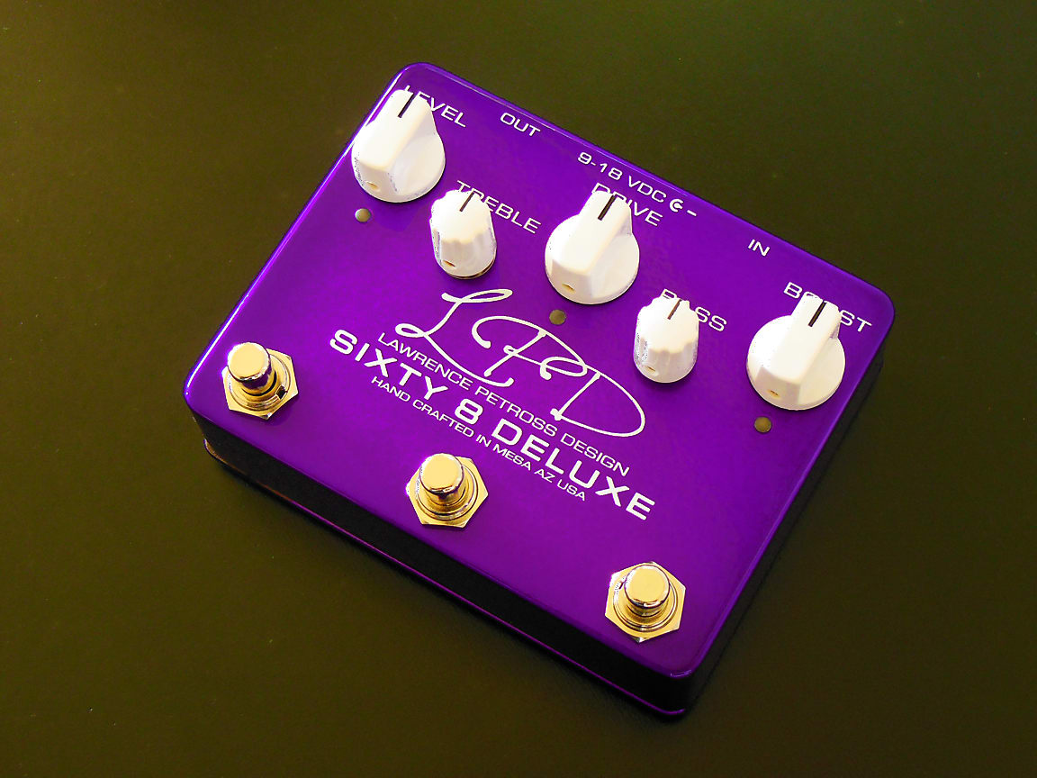 Lawrence Petross Design (LPD) Sixty 8 Deluxe Overdrive
