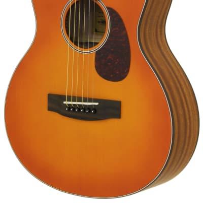 Aria Lil' Aria 151-LIL 2021 MTOS Matte Orange Burst for sale