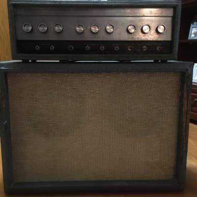 Silvertone Model 1484 Twin Twelve 60-Watt 2x12 Piggyback Guitar Amp