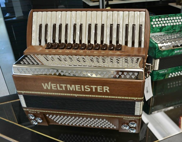 Weltmeister Monte 96 Bass with Helicon Bass 2016 Wood