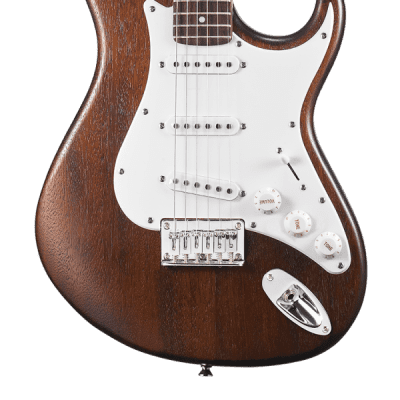 Cort G100 Electric Guitar Open Pore Walnut for sale