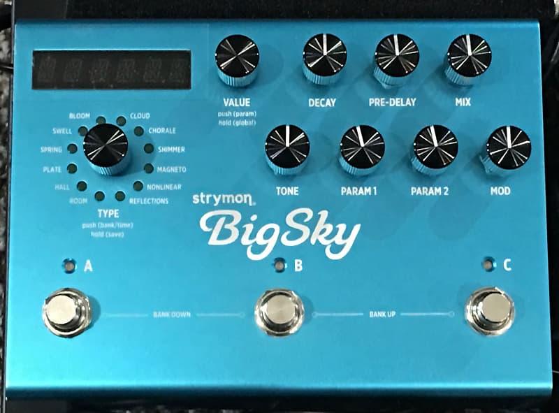 strymon big sky reverb world class music gear reverb. Black Bedroom Furniture Sets. Home Design Ideas