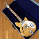Rickenbacker 366-12 convertible 6/12 string electric guitar original vintage OHSC 1968 Mapleglo image