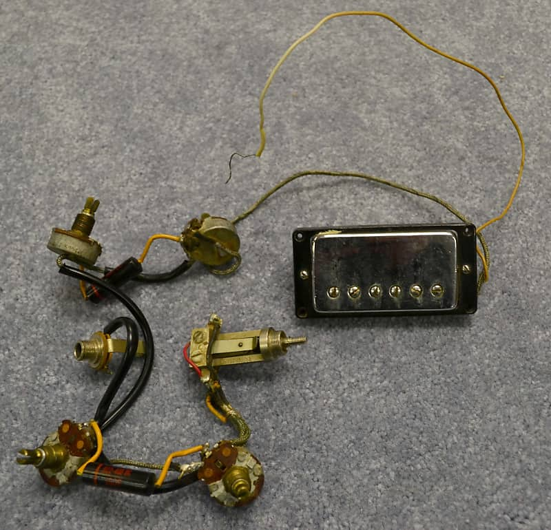 Vintage Gibson Wiring Harness on gibson es-335 wiring, gibson switch wiring, gibson les paul wiring mods, gibson 50s wiring,