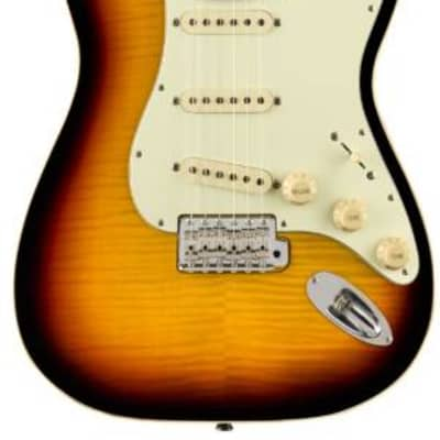 Fender aerodyne ltd classic stratocaster flame top for sale