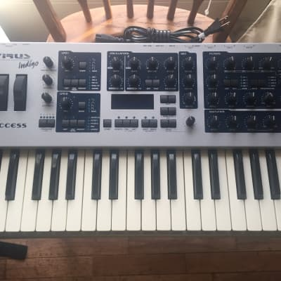 Access Virus Indigo 37-Key Digital Synthesizer. EDM synthesis masterpiece. Beautiful fully working