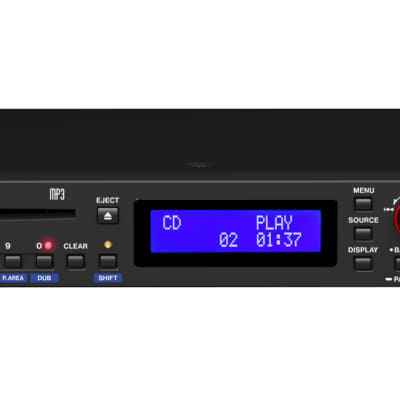 Tascam - CD-400U - CD/SD/USB Player with Bluetooth and AM/FM Tuner