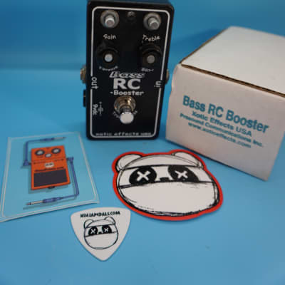 Xotic Bass RC Booster w/Original Box | Fast Shipping!