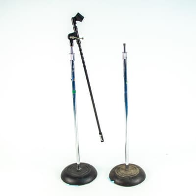 Pair Of Atlas Straight Stands Owned by Jay Farrar of Son Volt