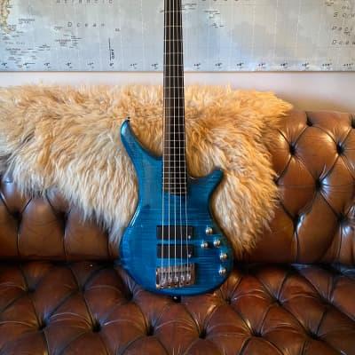 Vigier Passion IV Custom  2021 Flamed Maple Blue for sale