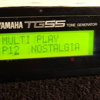 Yamaha TG55 Tone Generator Rackmount Synthesizer