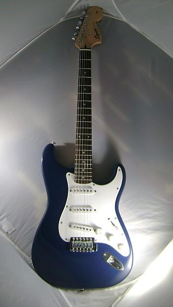 Fender Squier Strat Affinity Blue/White | JANCORE