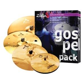 "Zildjian AC0801G A Custom Gospel Box Set 14/17/18/21"" Cymbal Pack"