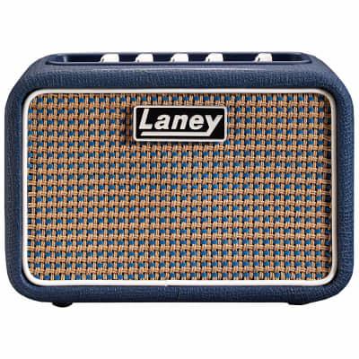 Laney Lionheart Mini-ST-Lion Stereo Battery Powered Desktop  Guitar Amp Blue 2018 Blue