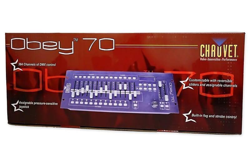 chauvet dj obey 70 light fog dmx lighting reverb. Black Bedroom Furniture Sets. Home Design Ideas