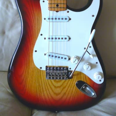 HS Anderson Stratocaster with Fender saddles RARE! for sale