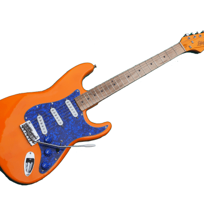 Leighton Guitars and Workshop Strat Style Guitar Master-built in the UK using RECLAIMED Woods
