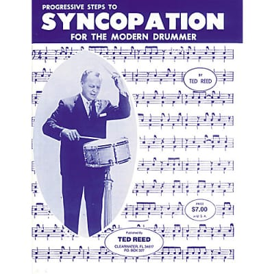 Alfred Progressive Steps to Syncopation for the Modern Drummer