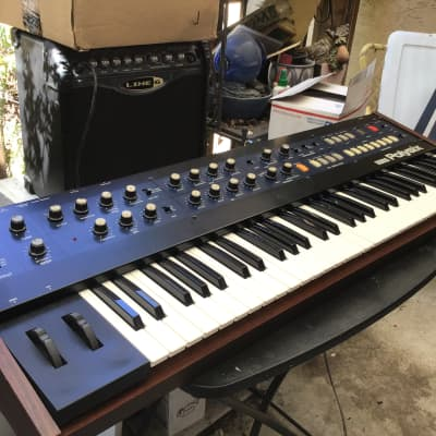 Korg PolySix Polyphonic Synth Just refurbished new parts and battery.