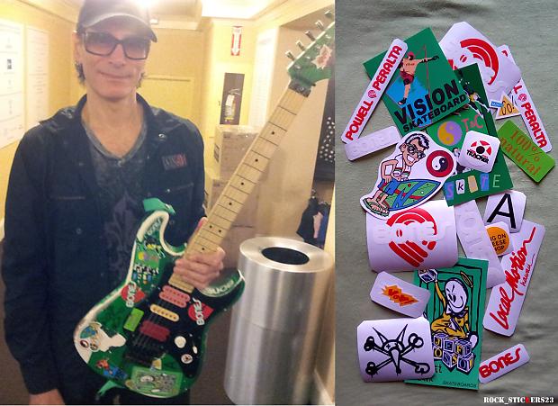 Steve Vai S Green Meanie Guitar Stickers Charvel Vinyl