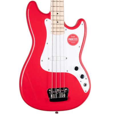 SQUIER AFFINITY SERIES BRONCO BASS - TORINO RED for sale