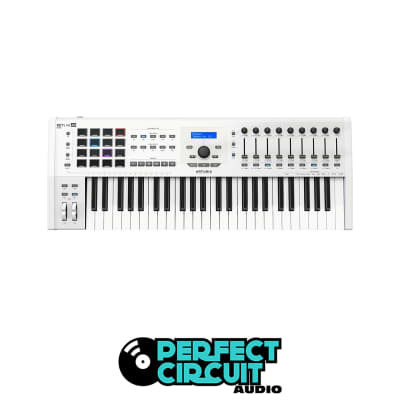 Arturia Keylab 49 mkII MIDI Keyboard Controller (White)