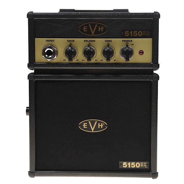 8512c404265 EVH 5150 III EL34 Micro Stack 1-Watt Battery Amp
