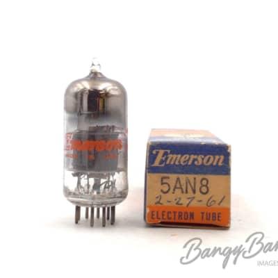 Vintage Emerson 5AN8 Triode Pentode Vintage Sunn/Ampeg Amp. Valve- BangyBang Tubes for sale