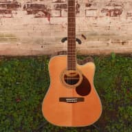 Samick Greg Bennett Design D7CE Beaumont Dreadnought Ac/El Guitar #6503 MFR Refurbished for sale