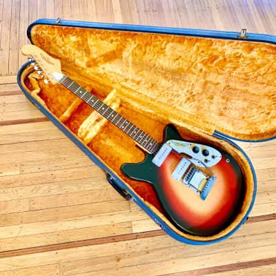 Micro-Frets stage 2 1969 Sunburst original vintage spacetone  USA for sale