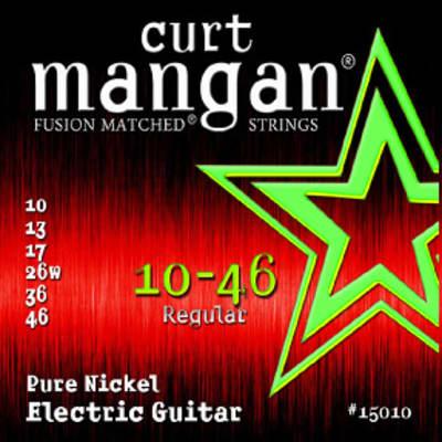 10-46 Pure Nickel Guitar String Set