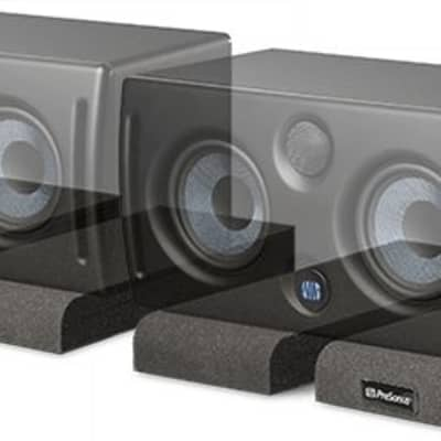 PreSonus ISPD-4 Isolation Pads: Acoustic isolation for studio monitors.