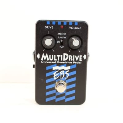 Used  MULTIDRIVE Guitar Effect Pedal
