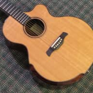 Galloup G.6 Borealis Auditorium Acoustic/Electric! Spruce/Rosewood! w/case for sale