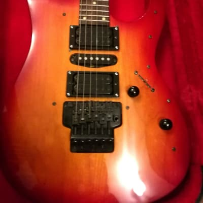 E-Gitarre  Cheri - Chery - Chevy Superstrat for sale