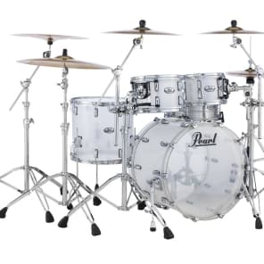 Pearl Crystal Beat Acrylic Drum Set 22/10/12/16 - Frosted