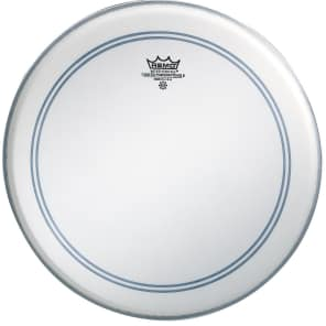 """Remo Powerstroke P3 Coated Bass Drum Head 24"""""""