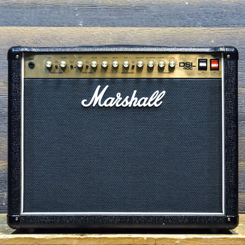 marshall dsl40c 40 watt rms all valve 1x12 guitar combo reverb. Black Bedroom Furniture Sets. Home Design Ideas