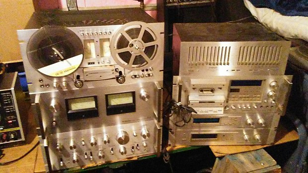 pioneer home stereo system. vintage pioneer hi-fi home stereo system spec 4 amplifier , and 8 pieces 1970\u0027s japan r