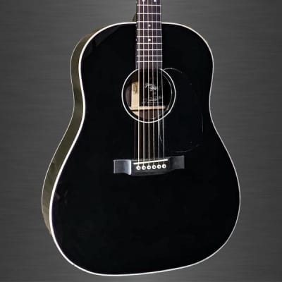 Martin Jimmy Buffett Custom Artist Model Dreadnought Acoustic Guitar -  Black for sale