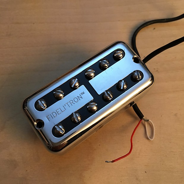 fender fideli'tron pickup chrome